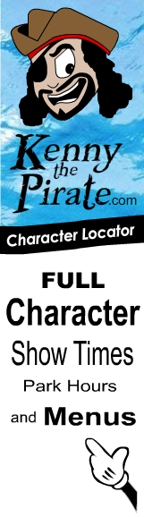KennyThePirate Character Locator App